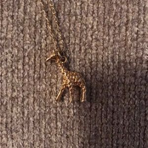 Giraffe Charm Necklace